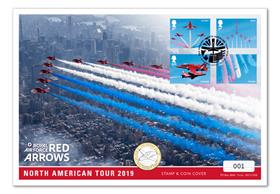 Red Arrows 2019 North American Tour £2 Cover
