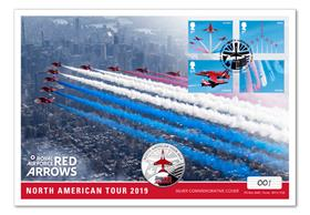 The Red Arrows North American Tour Silver Cover