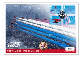 Red Arrows 2019 North America Tour Silver Cover