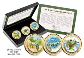D-Day Victory Coin Set