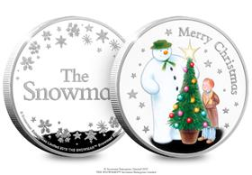 The Snowman Silver Commemorative