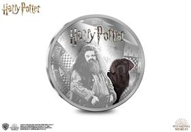 The Official Hagrid Silver-Plated Coin