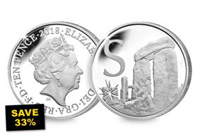 SAVE 33% - 2018 UK 'S' Silver Proof 10p