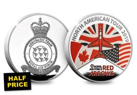 HALF PRICE - Red Arrows North American Tour Medal
