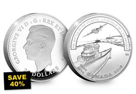 SAVE 40% - Battle of the Atlantic 1oz Silver Proof Coin