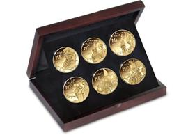 The First World War Centenary A Soldier's Story 6 Coin Set