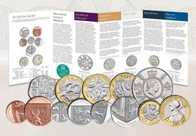 UK 2020 Annual Coin Set BU Pack