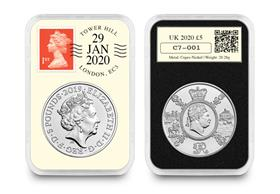 UK 2020 King George III £5 DateStamp Issue