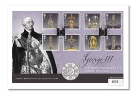 The George III £5 Commemorative Cover