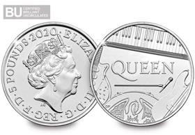 2020 UK Queen CERTIFIED BU £5