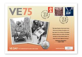 VE Day 75th Anniversary Silver Cover