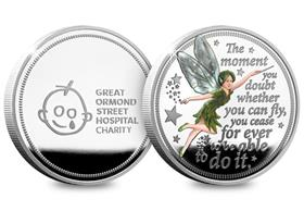 The Official Tinker Bell Silver Commemorative