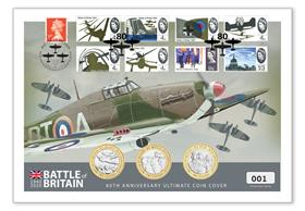 Battle of Britain Ultimate £2 Coin Cover