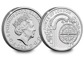 2020 UK The Royal Mint CERTIFIED BU £5