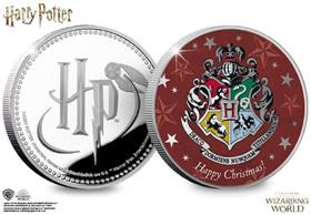 The Harry Potter Silver Christmas Commemorative