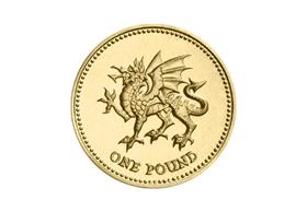 UK Welsh Dragon Circulation £1