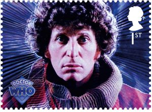 dr who tom baker 1st stamp1 300x222 - Dr Who Tom Baker 1st stamp