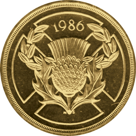 1986 Commonwealth Games £2