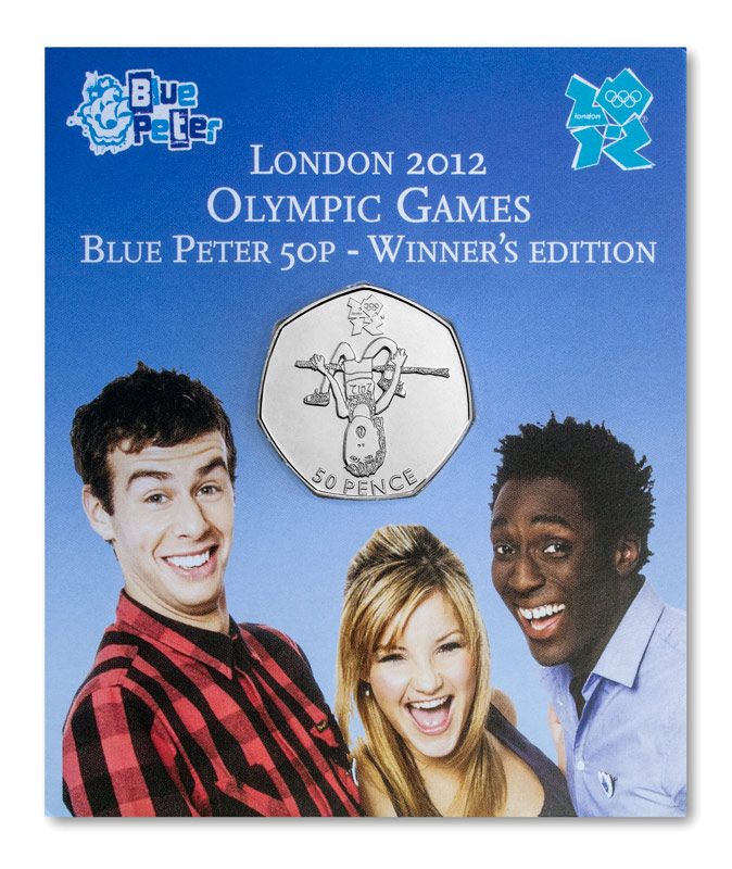 st london olympics blue peter 50p pack - Which Olympic 50p is really the rarest?