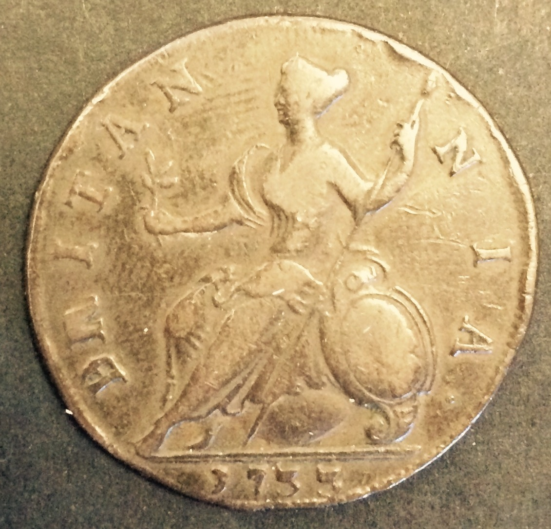 britannia early penny - Announcing: The return of Britannia to our coins