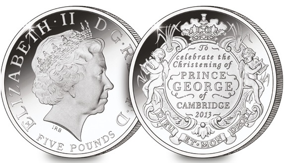 christening coin - Royal Proclamation confirms specification for new £2 coin