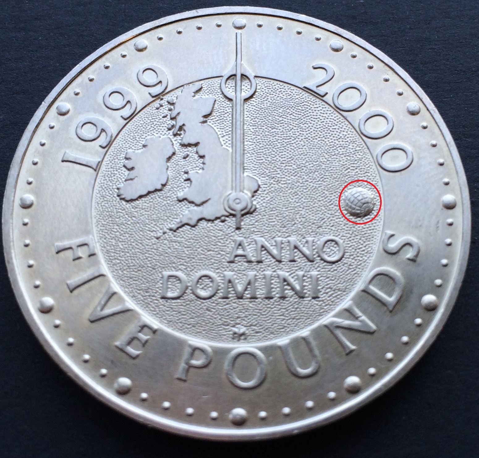 millennium - £5 Coins - My top 5 designs