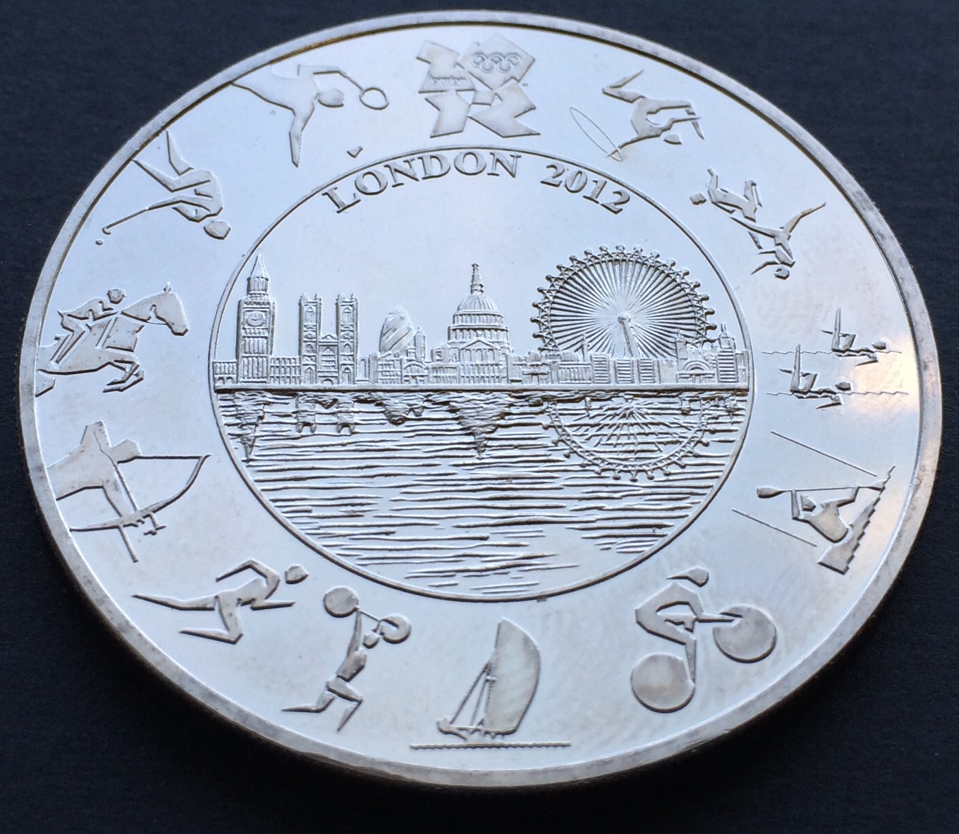 olympic - £5 Coins - My top 5 designs