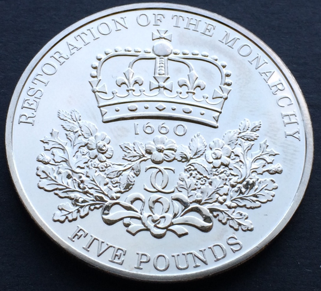 restoration - £5 Coins - My top 5 designs