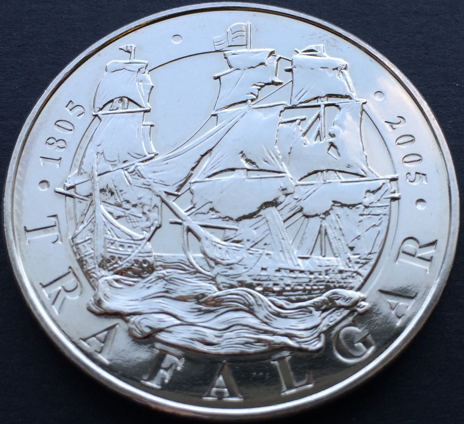 trafalgar - £5 Coins - My top 5 designs