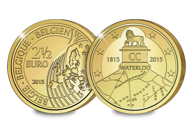 waterloo coin - Belgium wins Battle of Waterloo with new €2.50 coin