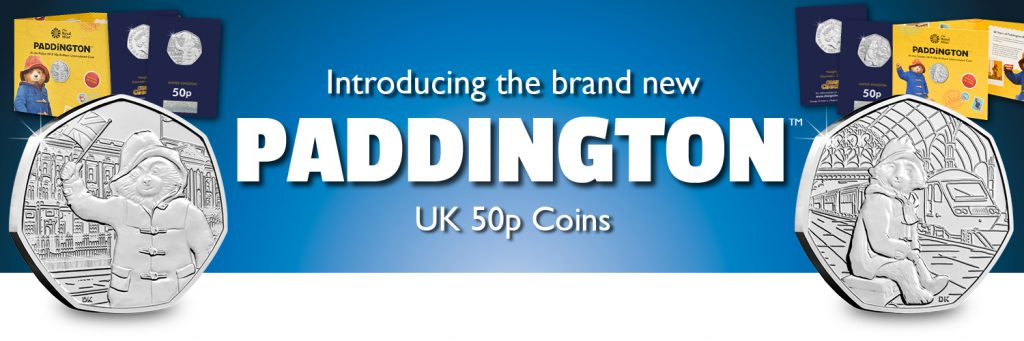 ST Change Checker UK 2018 Paddington Bear CuNi BU 50p Coins Twitter Banner 1024x341 - Ultimate Guide: The Top 10 Rarest Coins in Circulation