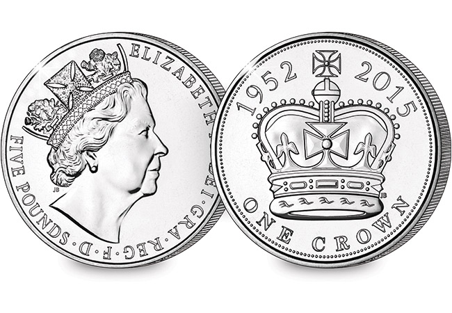 uk longest reigning monarch c2a35 coin - Does the UK now have a new Five Guinea coin?