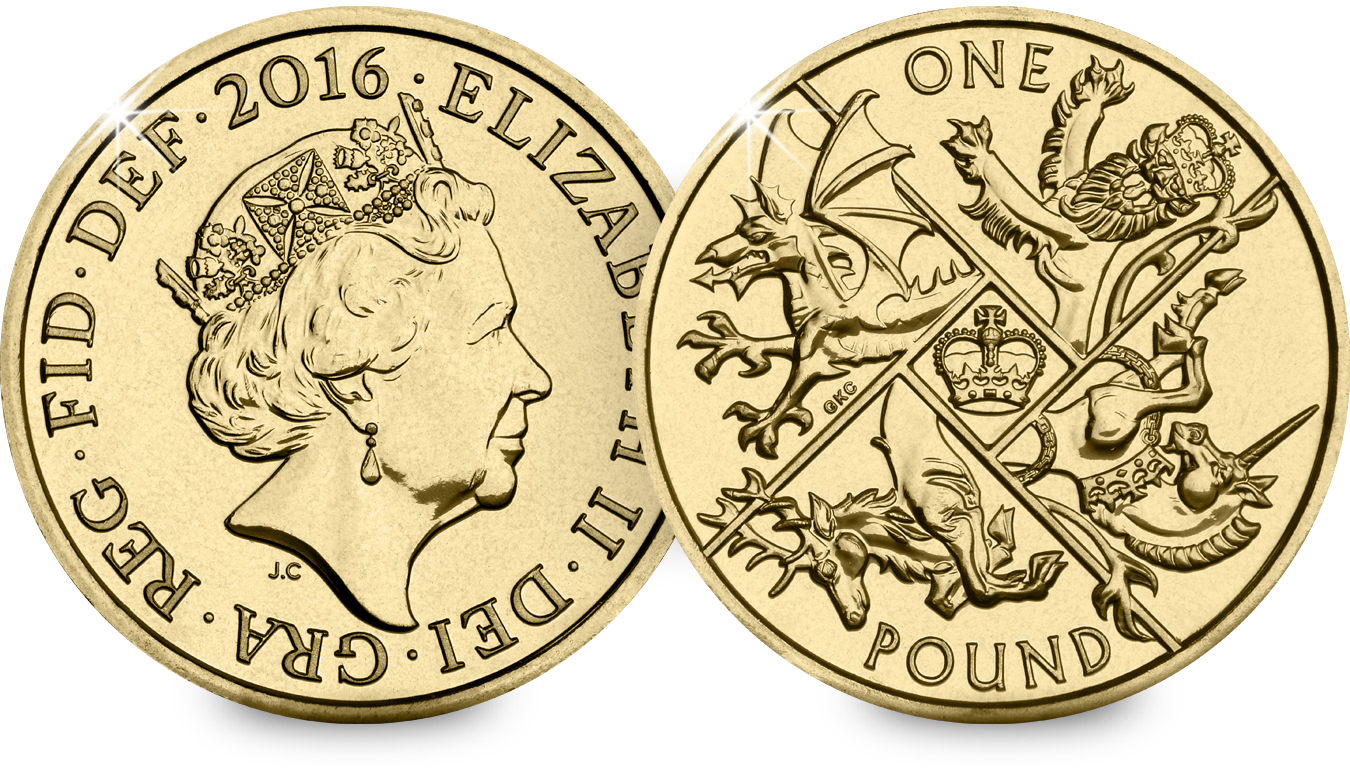 st 2016 royal arms c2a31 bu coin both sides1 - First look: New Royal Mint coin designs for 2016