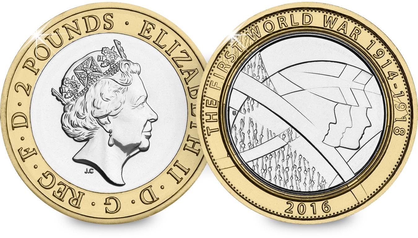last round 1 pound coin