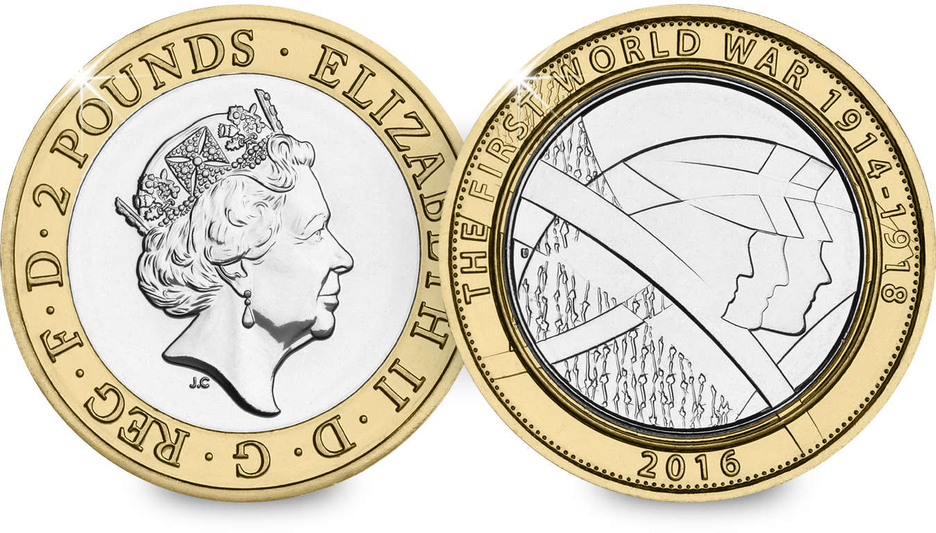 st 2016 wwi c2a32 bu coin both sides - First look: New Royal Mint coin designs for 2016