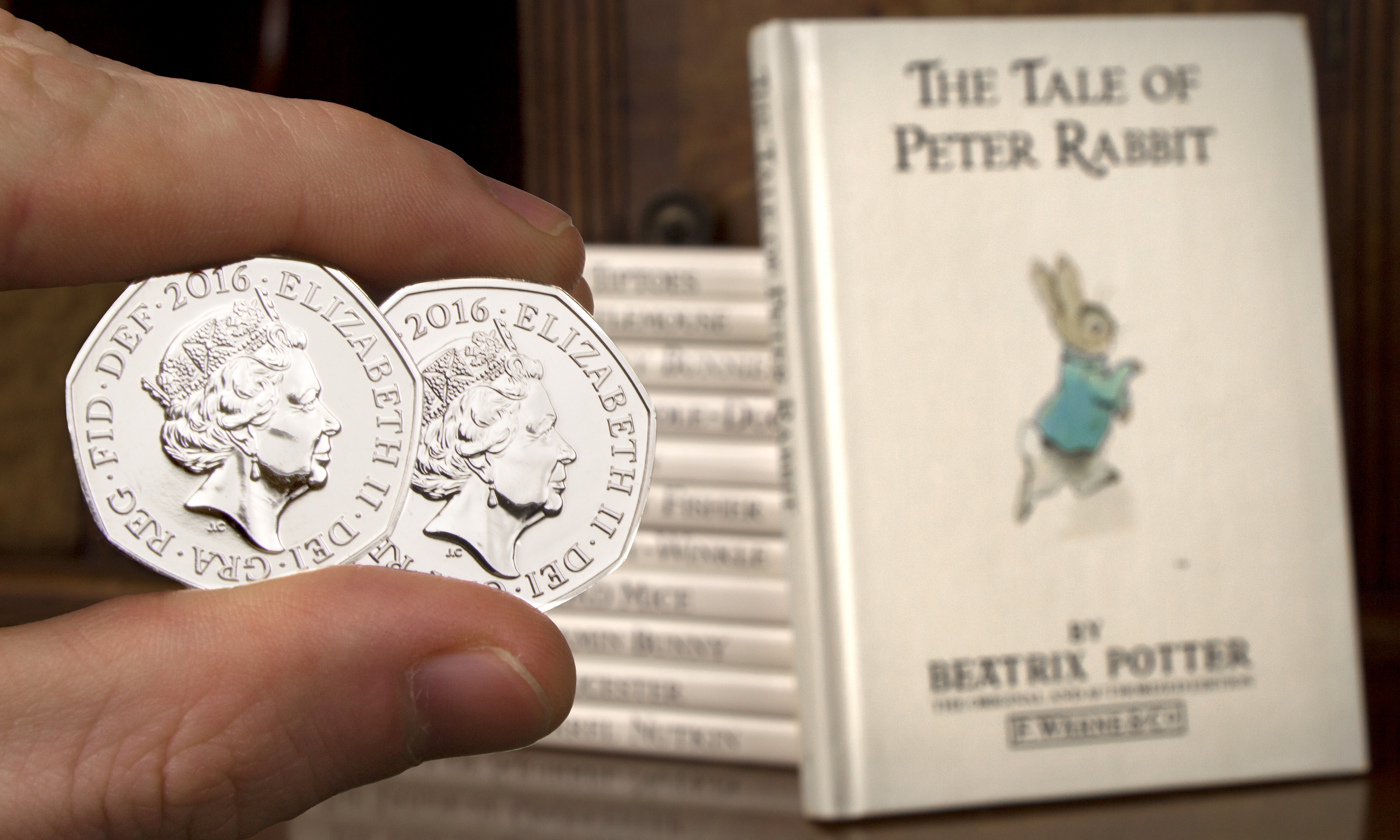 st beatrix potter 50p coins blog image - Beatrix Potter revealed as the latest theme for 2016