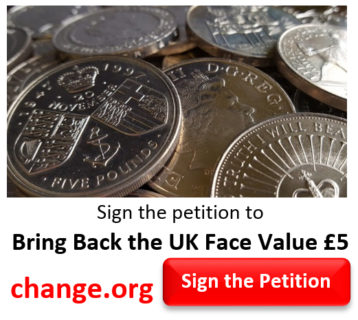 petition - Why the Royal Mint MUST bring back PROPER face value coins