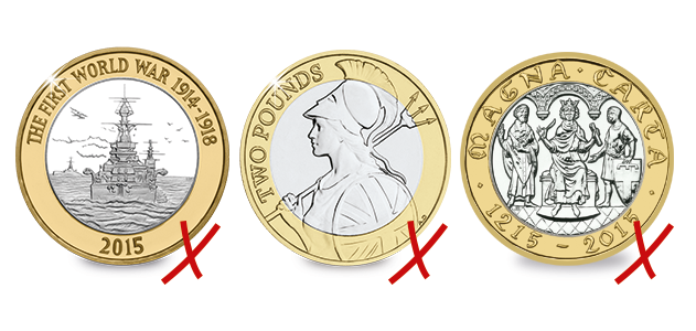 2 pound - The 2015 coin search update: where are they?