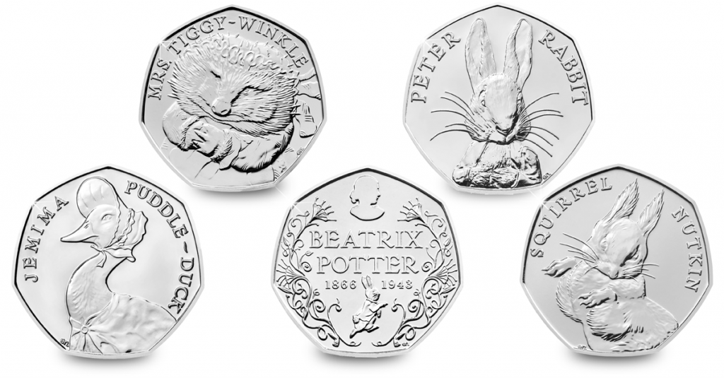 change checker facebook 5 beatrix potter 50 pence 1 1024x535 - Which coin series will you vote as your favourite?