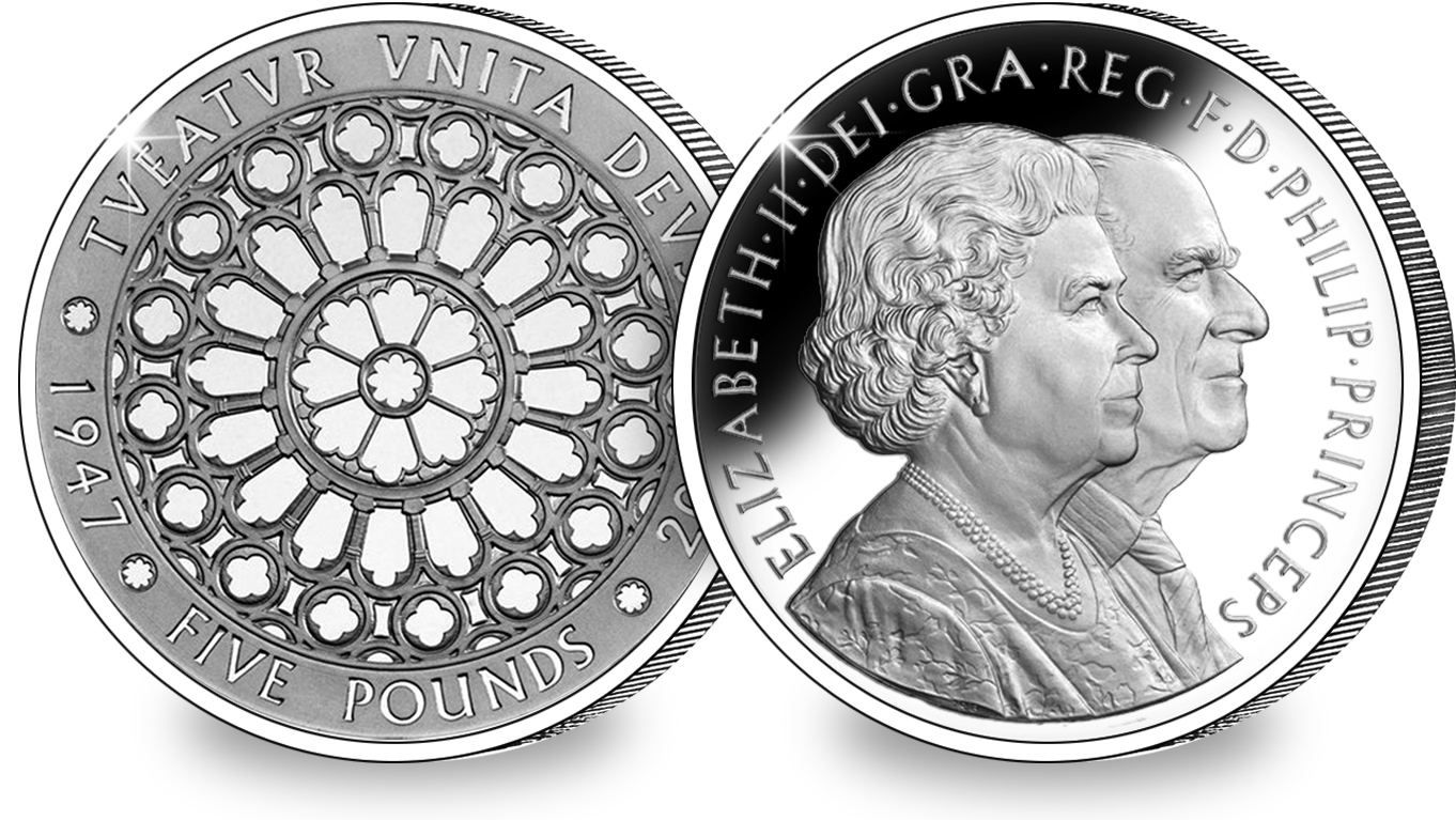 diamond wedding c2a35 coin both sides - A remarkable milestone that seems to have been forgotten...