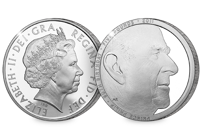 The Royal Mint has just announced the release of a brand new UK Prince Philip coin