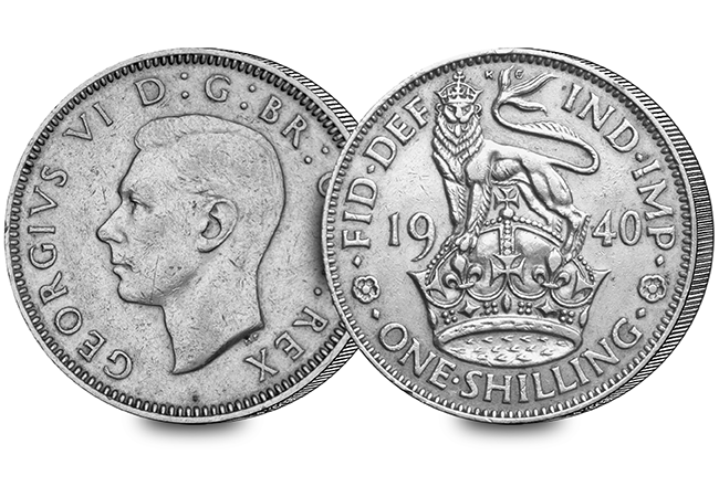 silver shilling - 22nd June 1816... The day Britain's coins changed forever