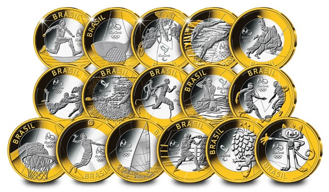 rio coins 002 - Is this Rio's Olympic 50p Collection?