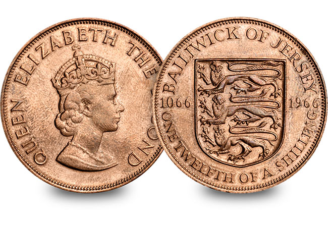 st battle of hastings 900th jersey 1966 shilling web images - When is a Penny not a Penny?
