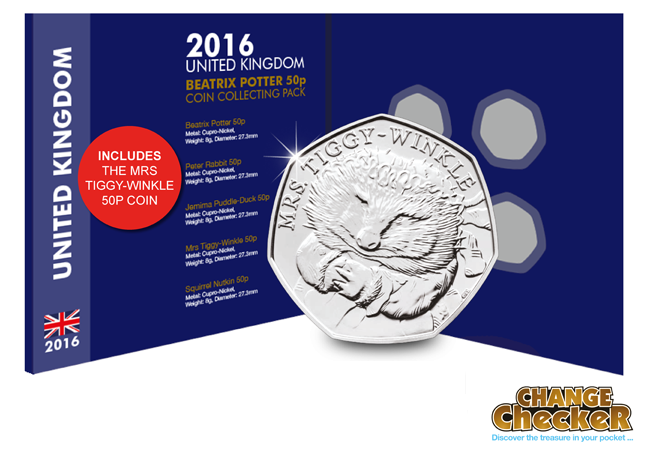 bp tw - Are the Beatrix Potter coins destined to be the scarcest 50p's ever?