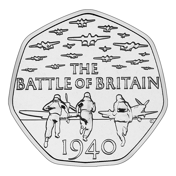 battle of britain 50p - Spot the difference: The Battle of Britain 50p that has caused a stir!