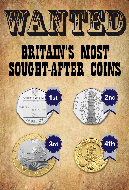 change checker wanted poster email1 - Most Wanted – Britain's most sought-after coins of 2016.