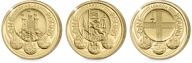 change checker edinburgh cardiff london one pound1 - The Great One Pound Coin Race Starts Today – just 250 days to own a complete £1 Coin Collection