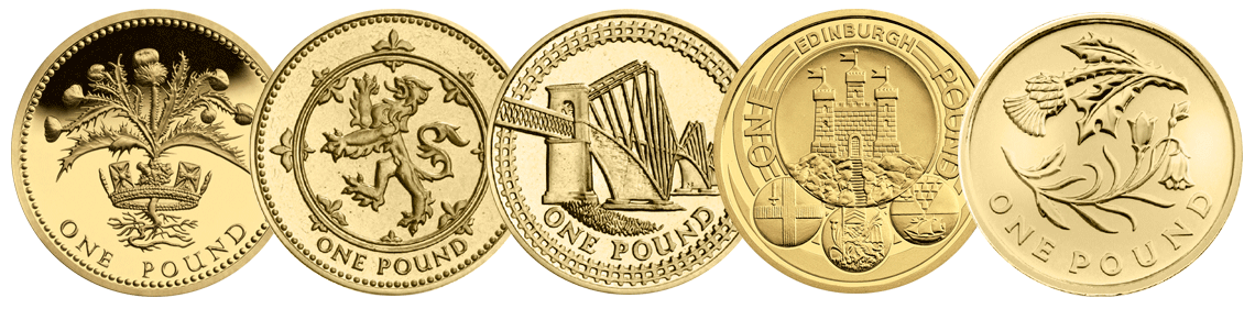 Poll: What is your favourite round £1 Coin design? - Scotland