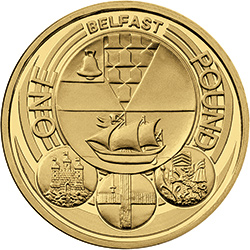 2010 c2a31 belfast - Poll: What is your favourite £1 Coin Design? - Northern Ireland